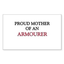 Proud Mother Of An AROFFICER Rectangle Decal