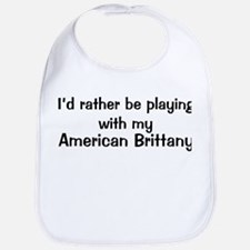 Be with my American Brittany Bib