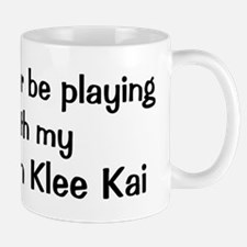 Be with my Alaskan Klee Kai Mug
