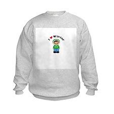 I Love Winter Ethnic Boy Sweatshirt