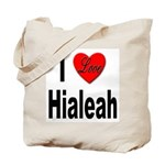 I Love Hialeah Florida Tote Bag
