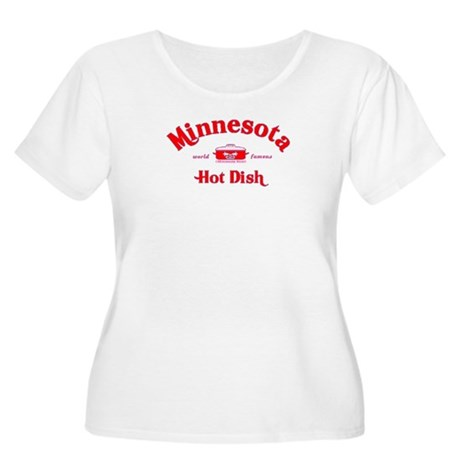 Minnesota Hot Dish Women's Plus Size Scoop Neck T-