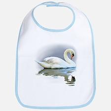 Swan Reflects Bib