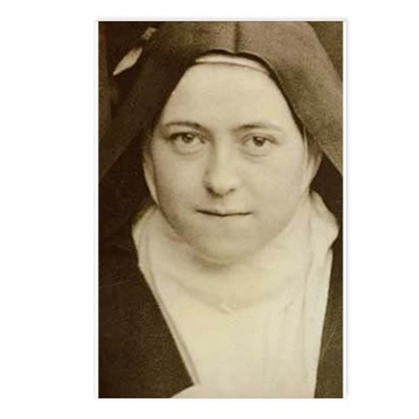 St Therese Holy Face Postcards (Package of 8)