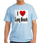 I Love Long Beach Light T-Shirt