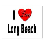 I Love Long Beach Small Poster