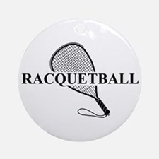 Racquetball Ornament (Round)