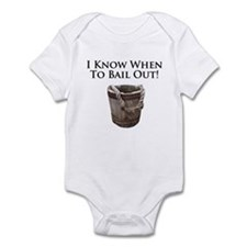 Bail Out in this Infant Bodysuit