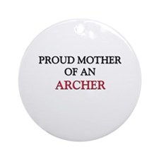 Proud Mother Of An ARCHITECT Ornament (Round)