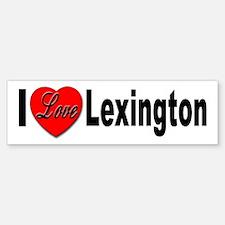 I Love Lexington Bumper Bumper Bumper Sticker