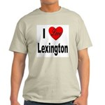I Love Lexington (Front) Light T-Shirt