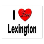 I Love Lexington Small Poster
