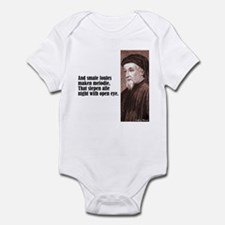 "Chaucer ""Smale Foules"" Infant Bodysuit"