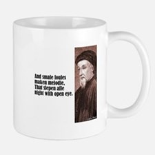 "Chaucer ""Smale Foules"" Mug"