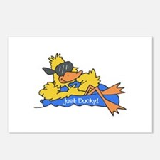 Ducky on a Raft Postcards (Package of 8)