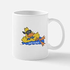 Ducky on a Raft Mug