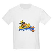Ducky on a Raft Kids T-Shirt
