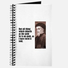 "Chaucer ""As Gold"" Journal"
