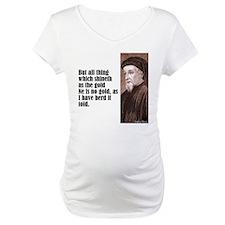"""Chaucer """"As Gold"""" Shirt"""