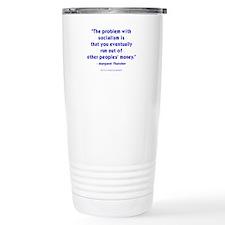 The Iron Lady Speaks Thermos Mug