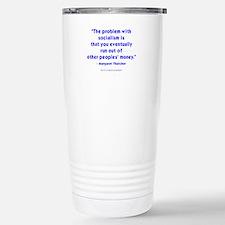 The Iron Lady Speaks Travel Mug