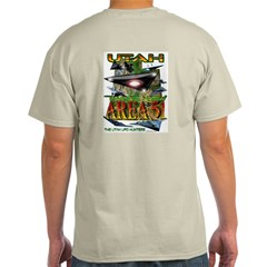 Utah The New Area 51 Ash Grey T-Shirt