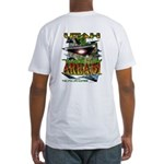Utah The New Area 51 Fitted T-Shirt