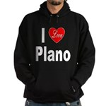 I Love Plano Texas (Front) Hoodie (dark)