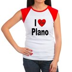 I Love Plano Texas Women's Cap Sleeve T-Shirt