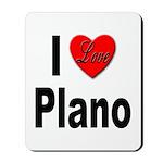 I Love Plano Texas Mousepad