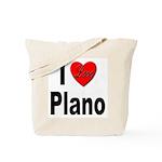 I Love Plano Texas Tote Bag