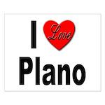 I Love Plano Texas Small Poster