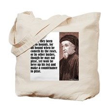 "Chaucer ""Hounds"" Tote Bag"