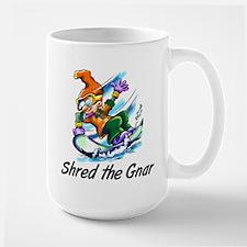 Shred the Gnar Large Mug