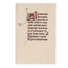 Unique Chaucer Postcards (Package of 8)