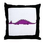 Dragonnspine Populace Throw Pillow