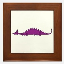 Dragonnspine Populace Framed Tile