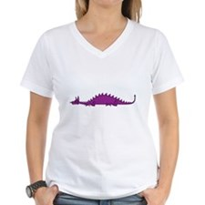 Dragonnspine Populace Women's V-Neck T-Shirt