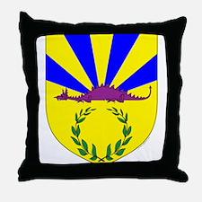 Dragonsspine Throw Pillow