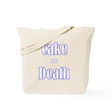 Unique Cake death Tote Bag