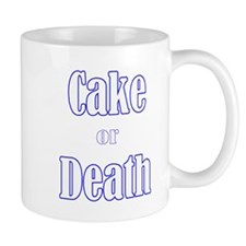 cake death3700trans dark Mugs