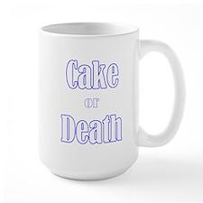 cake death3700trans dark Mugs