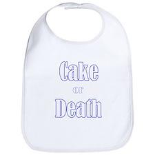 Unique Cake death Bib