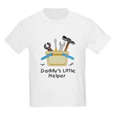 Daddy's Little Helper Kids T-Shirt