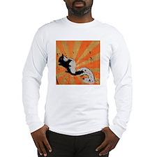 Retro Squirrel Long Sleeve T-Shirt