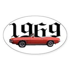 1969 Pontiac Firebird Oval Decal