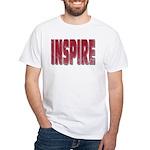 Inspire White T-Shirt