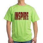 Inspire Green T-Shirt