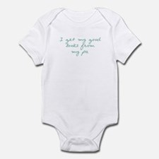 Get my looks from Pa Infant Bodysuit