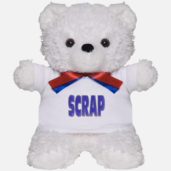 Scrap Teddy Bear